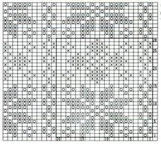 green-nordic-star-knitting-chart