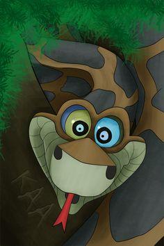 Kaa - The Jungle Book sssssllaaaaaap, mensenjong, ssssslllaaaaaapppp........