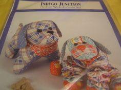 Craft Pattern Yo-Yo Puppy Love Indygo Junction Pattern Crafts Quilt IJ788 Plush #IndygoJunction