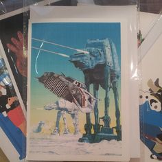 One for star wars fans! All from Duncan' drawings  (at Crafty Praxis)