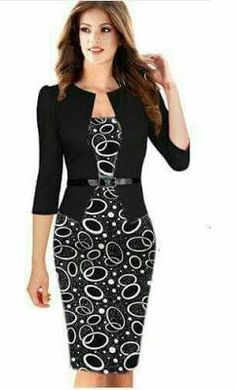 Chic and casual outfits ideas for women fashion ideas Elegant Dresses For Women, Fabulous Dresses, Beautiful Dresses, Best Prom Dresses, Dresses For Work, Formal Dresses, African Fashion Dresses, African Dress, Dress Outfits