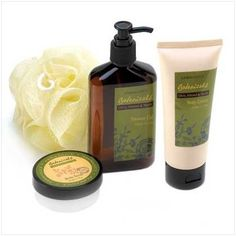 'Aromanice Botanical Bath Set ' is going up for auction at  8pm Mon, Dec 10 with a starting bid of $12.
