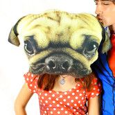 Found it at Wayfair.co.uk - Pug Face Cushion