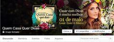 Grupo no Facebook para noivas!