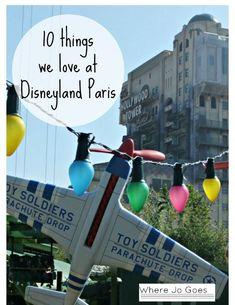 10 Things we love at Disneyland Paris