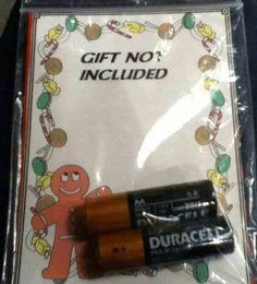 Secret Santa strikes again…