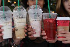 Best friends photo shoot Starbucks