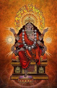 Devi Kali Kalika Деви Богиня Кали Калика
