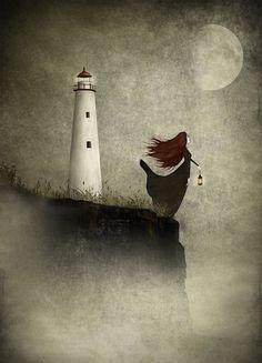 "Maja Lindberg, ""The Lighthouse Widow"". Gorgeous."