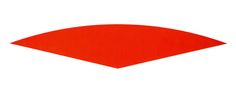 Ellsworth Kelly, Red Curve, 1986