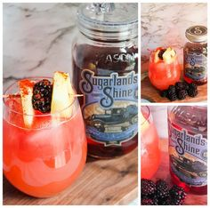 #SugarlandsSummer   Blackberry Sunset   Classic Cocktails For Your Next Summer Party   The Fit Fotographer   fitfotog.com   #AD