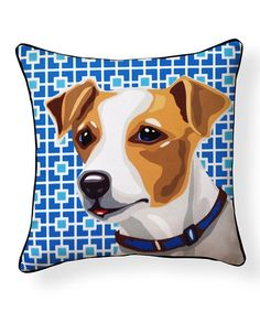 Another great find on #zulily! Jack Russell Pillow #zulilyfinds