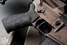 The NEW Hexmag Rubber Tactical Grip - Photo by Down Range Photography
