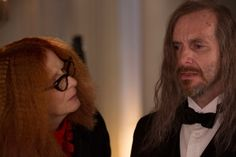 Frances Conroy and Denis O'Hare in American Horror Story: Coven