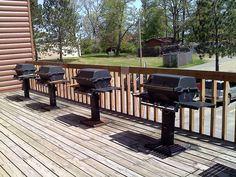 Breezy Point Timeshare Resort facilities - (Highland Village) BBQ deck outside - 2011 Breezy Point, Highland Village, Cheap Web Hosting, Image Search, Golf Courses, The Outsiders, Bbq, Condo, Deck