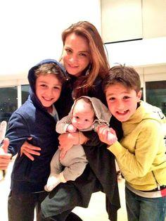 León, el hijo de Silvia Navarro, es un 'bebé súper sonriente', según Polo Morín