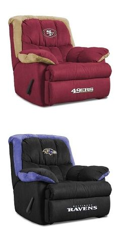 Tell us: which recliner would you rather watch Super Bowl XLVII from?    #ravens #49ers #superbowl2013