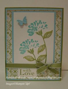 With Love. I could use Fabulous Florets stamp