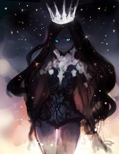 Kai Fine Art is an art website, shows painting and illustration works all over the world. Dark Fantasy Art, Fantasy Girl, Fantasy Characters, Anime Characters, Character Concept, Character Art, Queen Anime, Ange Demon, Estilo Anime