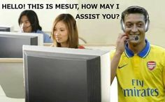 Arsenal news: This picture of Mesut Ozil assisting Olivier ...