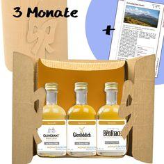 Das originelle Geschenk für Whiskytrinker. Ein Whiskyabo für 2 bis 12 Monate, welches automatisch endet. Eine Reise durch die Welt der Whiskys. Entdecken Sie jeden Monat hochwertige Whiskys und Destillerien.