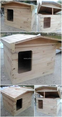 wooden-pallets-dog-house