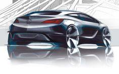 Opel Astra GTC - Design Sketch