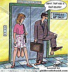 Elevator joke
