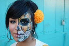 easy dia de los muertos outfit | ... this and an outfit kinda like this with skeleton tights and gloves
