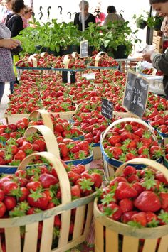 Provence France, Fruits And Vegetables, Farmers Market, Fresh Fruit, Street Food, Marketing, Healthy, British History, American History