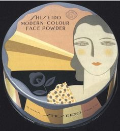 Design by Yamana Ayao, 1932, Modern Colour Face Powder, Shiseido.