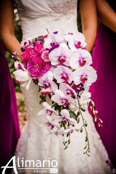 wedding flowers and orchids