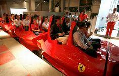 "Park ""Ferrari World"" in Abu Dhabi."