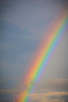 tuesday night rainbow #2--7/17/12