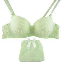 19d16fe765 Sexy Women lingerie Seamless Striped Push Up Bra Sets Underwear Lingerie  Bras for Women 32 34