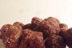 Raw pepparkaksbollar