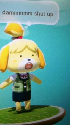 See more 'Isabelle' images on Know Your Meme! Cute Memes, Stupid Funny Memes, Haha Funny, Funny Texts, Animal Crossing Memes, Nintendo, Mood Pics, Oui Oui, Funny Laugh
