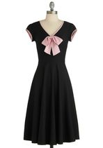 Stop Staring! All That and Demure Dress | Mod Retro Vintage Dresses | ModCloth.com