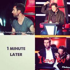 Adam Levine and Blake Shelton's bromance!!
