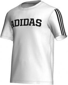 new arrivals 160e8 47851  42 Camiseta de hombre ESS Linage Adidas - logotipo termotransferido -  estampado