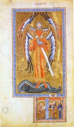 Hildegard von Bingen - Lucca Codex (Liber divinorum operum) Table 1.