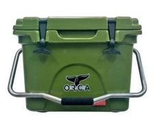 ORCA Heavy Duty 20 Quart Cooler Green NEW FREE SHIPPING GREAT CHRISTMAS GIFT #ORCA