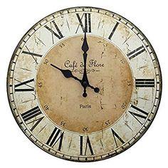 Fesselnd Lilienburg Uhr Wanduhr Weiß Schwarz Antik Wand Nostalgie Shabby  Landhausstil XL Vintage Groß Küchenuhr K | Einrichtungsideen | Pinterest |  Wall Watch, ...