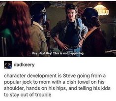 Steve: High school student to single mom