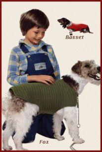 Manteaux pour chiens au crochet - tuto