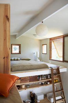 hochbett erwachsene treppe metall holz h tte kinderzimmer pinterest hochbett erwachsene. Black Bedroom Furniture Sets. Home Design Ideas