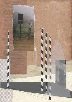"""Saatchi Art Artist Greet Weitenberg; Collage, """"untitled 8"""" #art"""