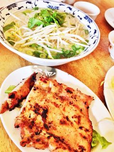 Vietnamese style lunch at Pho Huang ... #pho #foodie #nomnom