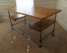 Items similar to Pipe Desk - Office on Etsy