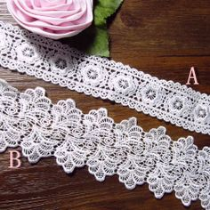 Vakkert håndlaget hvit silke blondere Tilbehør inn 2 - Taobao Sewing, Diamond, Bracelets, Jewelry, Bangles, Dressmaking, Jewlery, Couture, Jewels